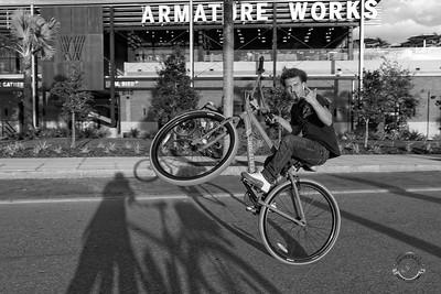 Cyclists & Night Shots-B&W-80