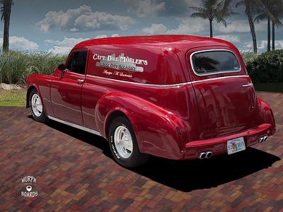 Bill Muller's 52 Chevy Sedan Delivery