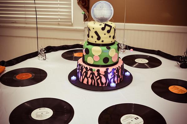 70s Birthday Party 010