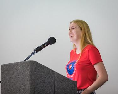 Astronaut Abby Keynote at Space Coast Marathon Dinner