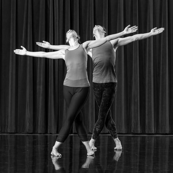 Melanie Aceto and Phil Wackerfuss.  Photo by Paul Hokanson