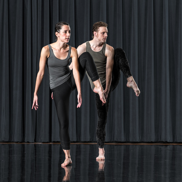 Melanie Aceto and Phil Wackerfuss.  Photo by Paul Hokanson