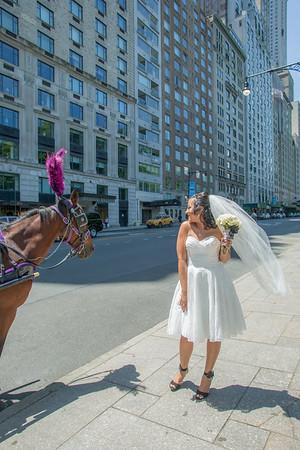 Aisha & Christopher Central Park Wedding-4