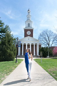 Allison's Graduation Photography at University of Kentucky & Keeneland with her dog Hank in Lexington, KY 4.2.17.