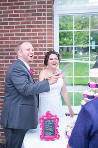Amy & Tom's wedding day at Estes Chapel at Asbury Seminary 7.19.15.