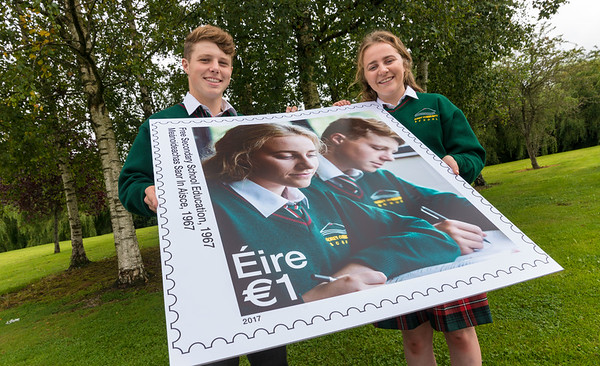 An Post Stamp Launch in Gorey Community School