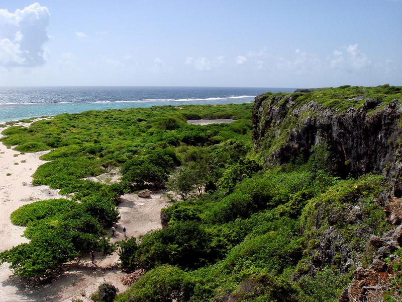 Two Foot Bay coastline, Barbuda, by Ted Lee Eubanks.