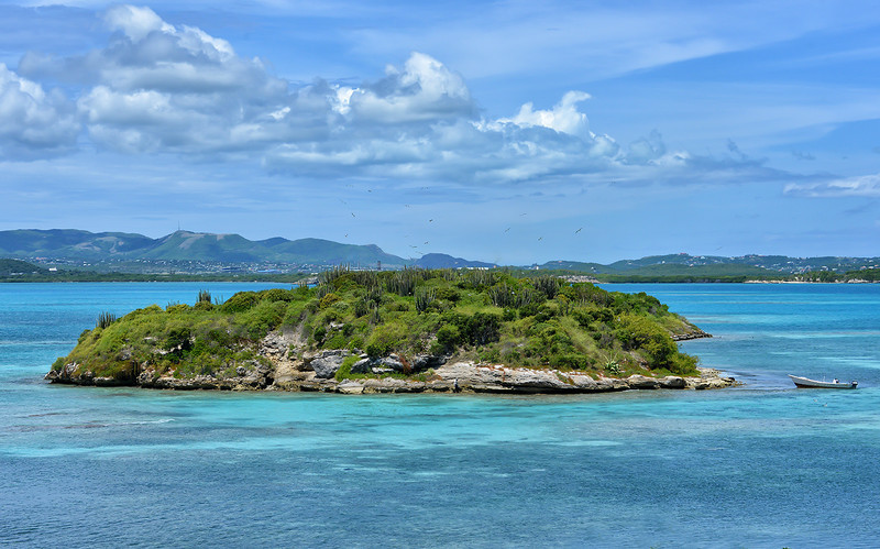 Galley Island, Antigua, by Ted Lee Eubanks.