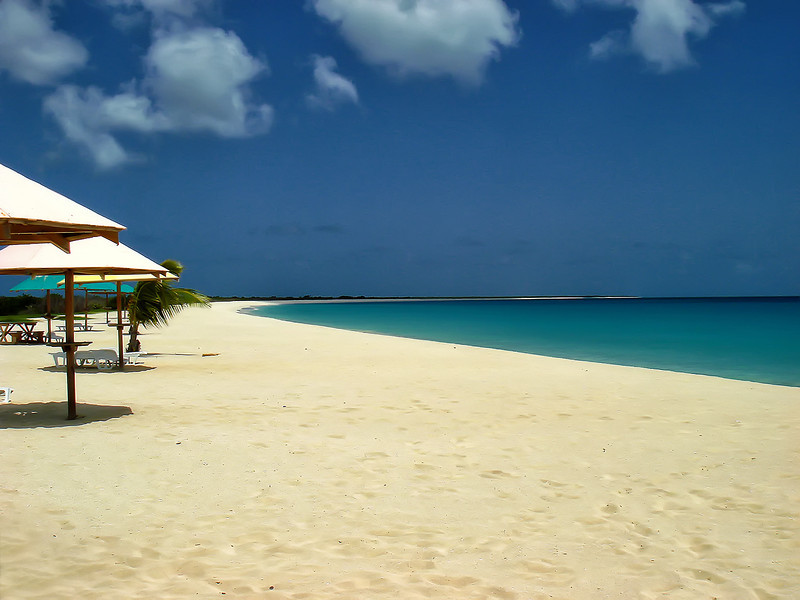 Barbuda beach by Ted Lee Eubanks.