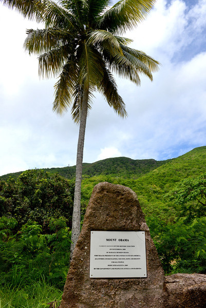 Mount Obama, Christian Valley, Antigua, 2013