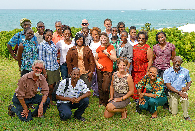 EAG avitourism workshop participants, 26 June 2013, by Ted Lee Eubanks