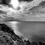 Caribbean Sea from Fort Barrington, Antigua, 2013