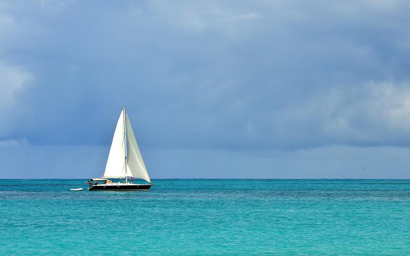 Sailing, Antigua, 2013