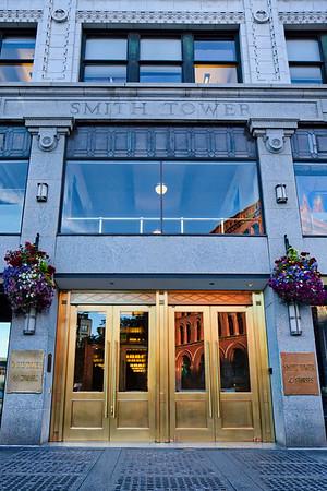 Smith Tower in Seattle, Washington