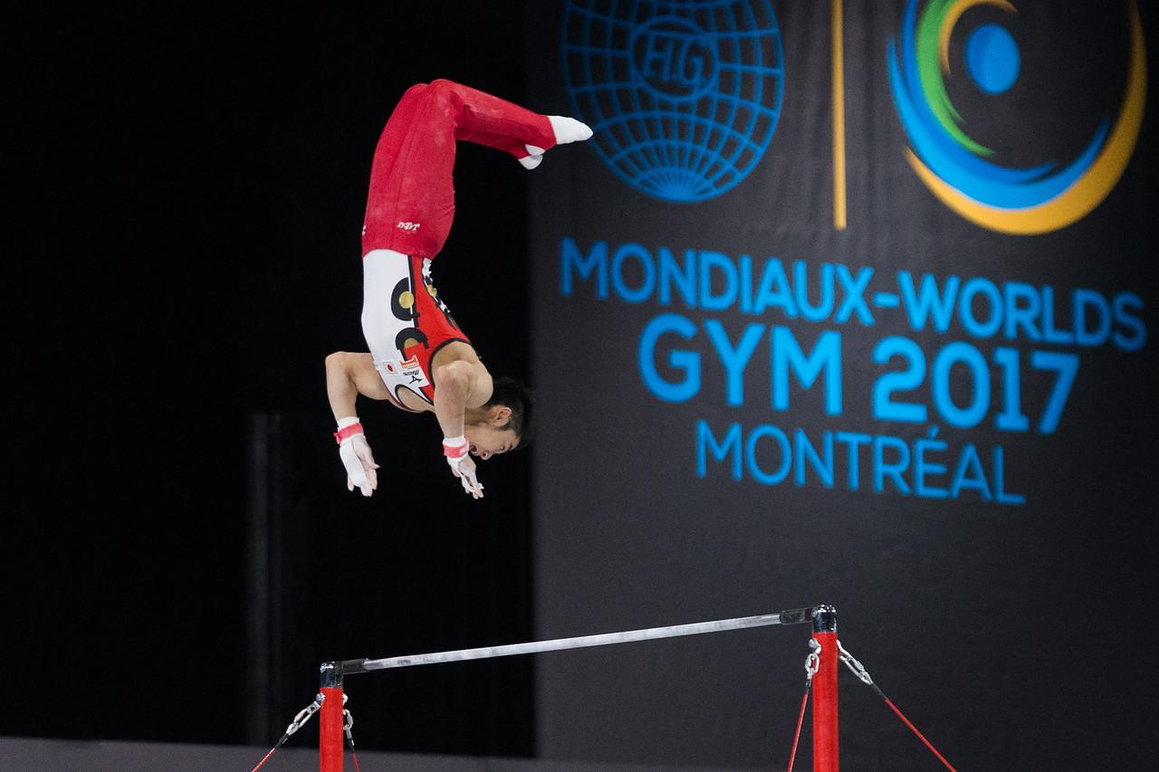 FIG 2017:  Artistic Gymnastics World Championships, Men's All-Around Final October 05