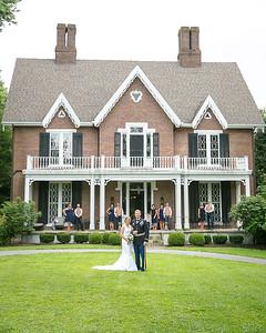 Ashley & Matt's wedding day at Warrenwood Manor, Danville, KY 7.4.15.