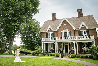 Ashley & Matt's wedding day at Warrenwood Manor, Danville, KY 7.4.15.