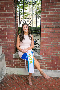 Ashley's Graduation Photography at the University of Kentucky in Lexington, KY 4.9.16.