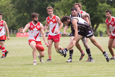 AFL Ontario 2018:  Toronto Rebels vs Ottawa Swans  JUN 23