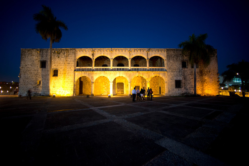 The Alcázar de Colón, or Columbus Alcazar, located in Santo Domingo, Dominican Republic, is the oldest Viceregal residence in America.