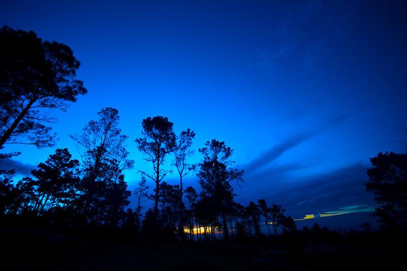Sunset at Villa Pajon