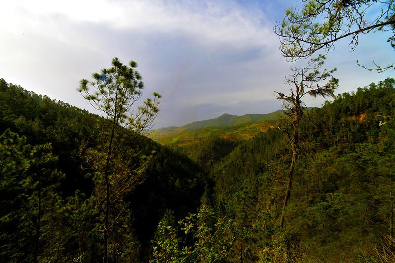 View from Aguas Blancas