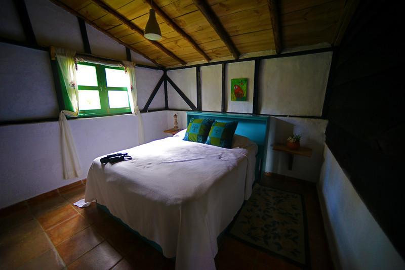 Bedroom at Villa Pajon