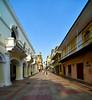 Side street near Parque Colon in the Zona Colonial, Santo Domingo