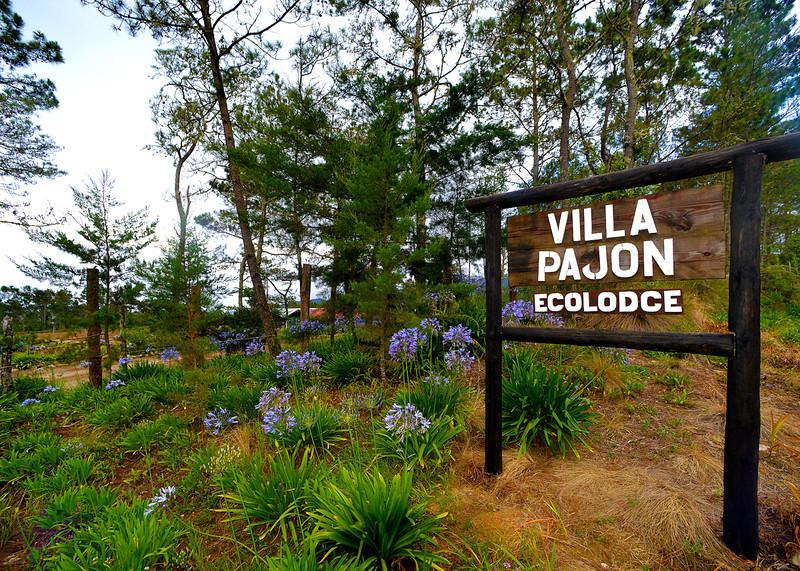 Entrance to Villa Pajon