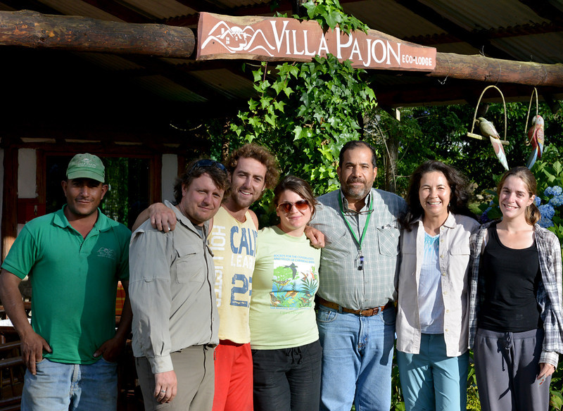 Last morning at Villa Pajon, with (from left to right): Rafa, Jorge, Justin, Holly, Dielo, Lisa, and Marisol