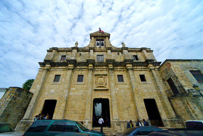 One of the many churches in the Zona Colonial, Santo Domingo