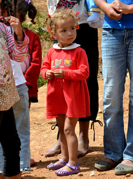 One of the lovely children that accompanied us during our visit to Castillo