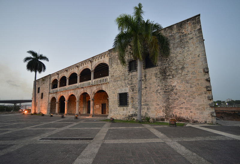 Alcázar de Colón, or Columbus Alcazar, located in Santo Domingo, Dominican Republic, is the oldest Viceregal residence in America.