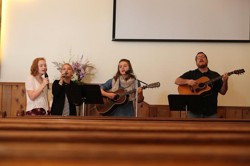 2018 Brown County Comunity Church Service