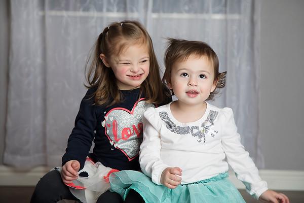 Ella and Gracie Owen - 2018