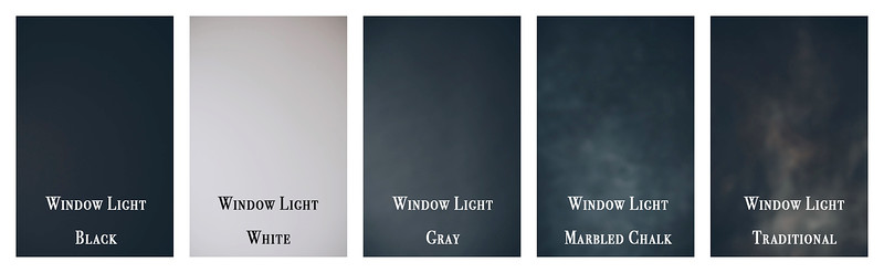Window Light Background Options Labled