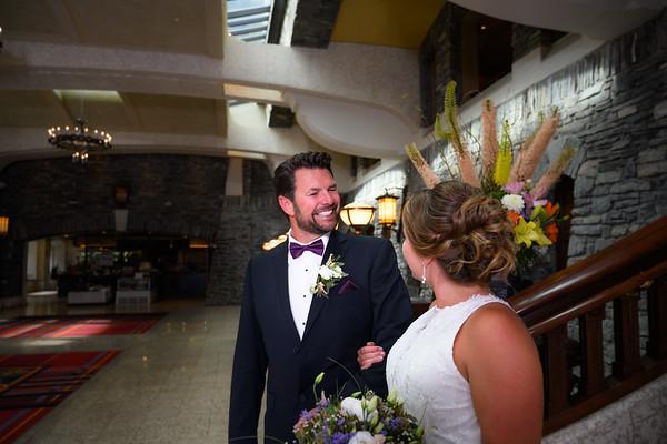 Jaclyn & Ryan Elopement - Banff Wedding