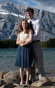 Clara and Tanner, Honeymoon Photography, Banff, Alberta