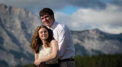 Clara and Tanner, Honeymoon Photography, Banff, Alberta