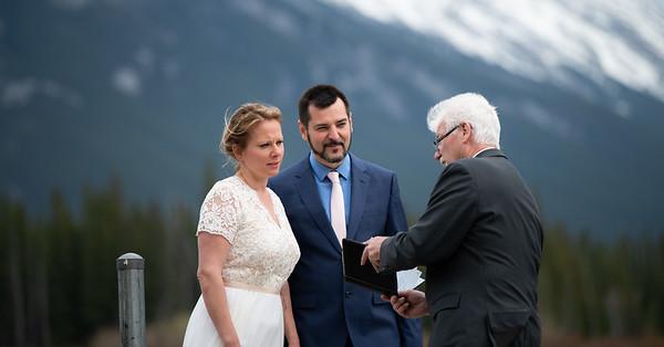 Banff Wedding - Sarah and Darko