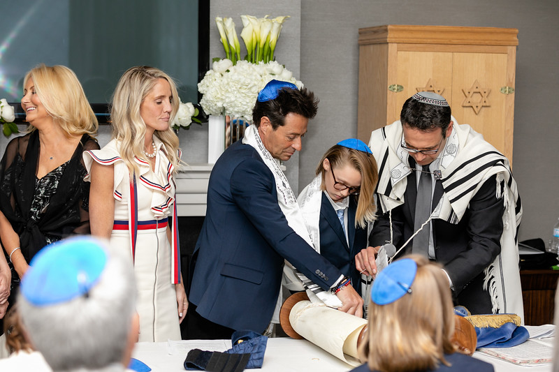 Josh Katz bar mitzvah. June 9, 2018 (photo: Vito Amati)