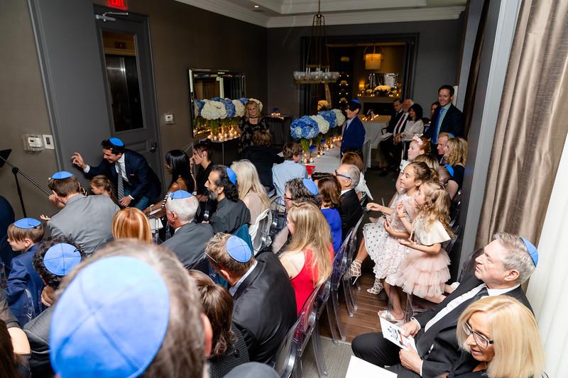 Josh Katz bar mitzvah. June 9, 2018 (photo: Vito Amati)