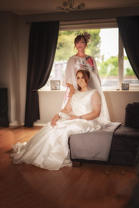 Mother and Bride ready