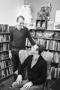 Ben & Alex's engagement session at Morris Bookshop & Jacobson Park in Lexington, KY 12.4.15.   © 2015 Love & Lenses Photography    www.loveandlenses.photography
