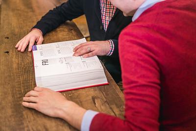 Ben & Alex's engagement session at Morris Bookshop & Jacobson Park in Lexington, KY 12.4.15.   © 2015 Love & Lenses Photography    www.loveandlenses.photography
