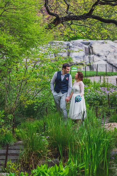Ben  &  Anna - Central Park Elopement-36