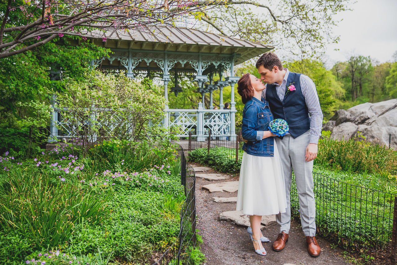 Ben  &  Anna - Central Park Elopement-63