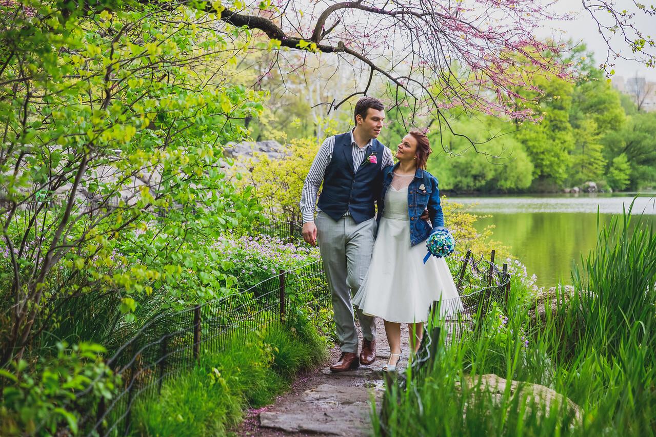 Ben  &  Anna - Central Park Elopement-62