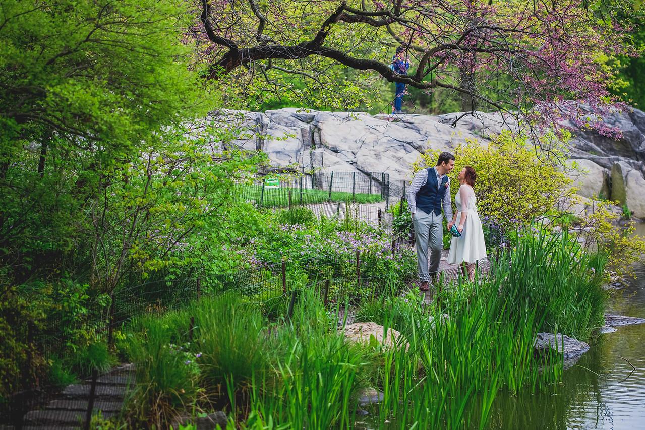 Ben  &  Anna - Central Park Elopement-34