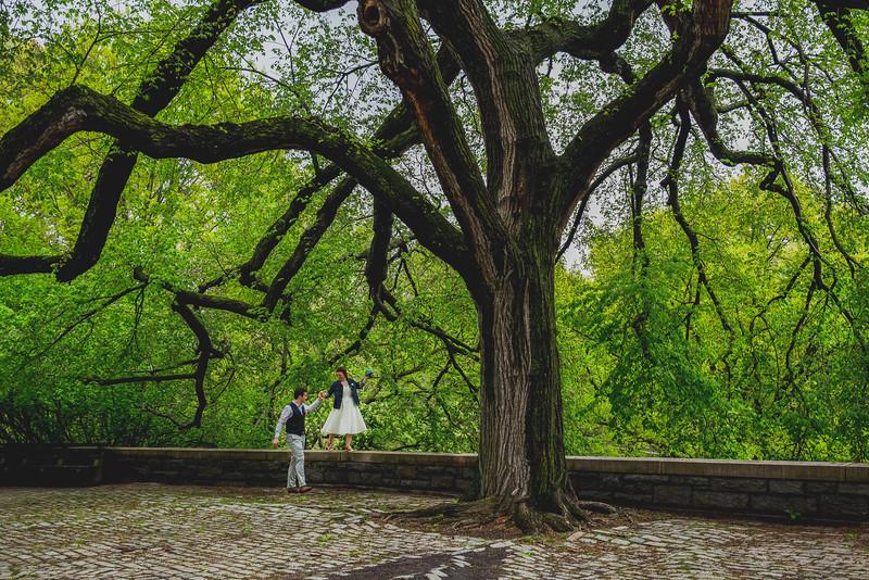 Ben  &  Anna - Central Park Elopement-77